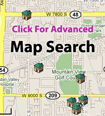 Click here to Search MLS for Salt Lake City Map Homes for Sale