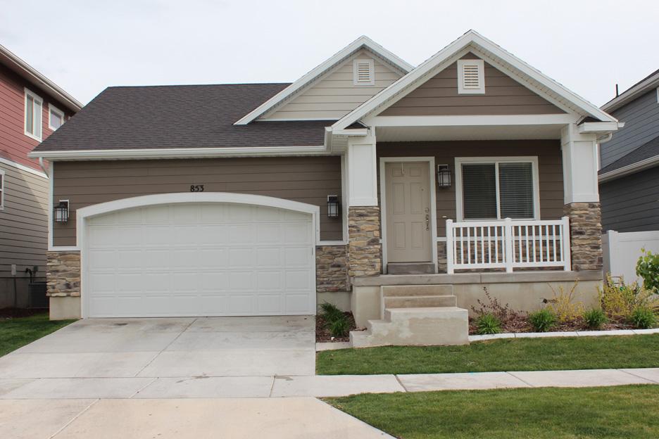 Midvale Rambler Home In Utah 84047 East Riverwalk Development